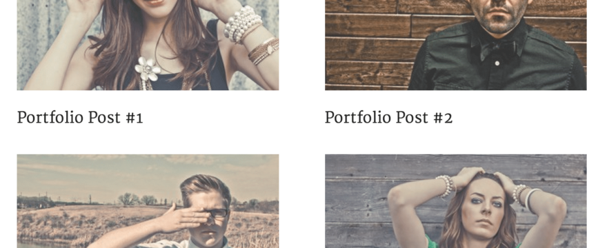 Using Headway's Content Block to Create StudioPress' Modern Portfolio Content Area